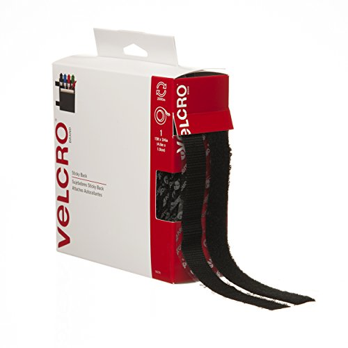 "VELCRO Brand - Sticky Back - 15' x 3/4"" Tape - Black"