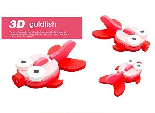 Thinkmax 3-D Wooden Puzzle Affordable Gift For Your Little One!£¨Golden Fish ) front-817543