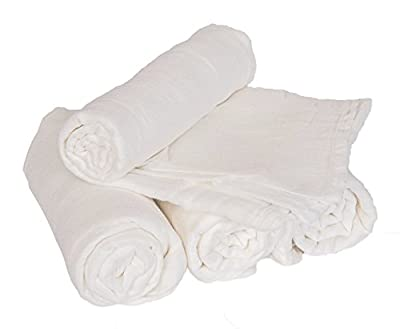 Soft Bamboo Muslin Baby Swaddle Blankets by Willow Beans