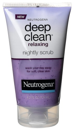 Neutrogena Deep Clean Relaxing Nightly Scrub, 4.2 Ounce front-629467