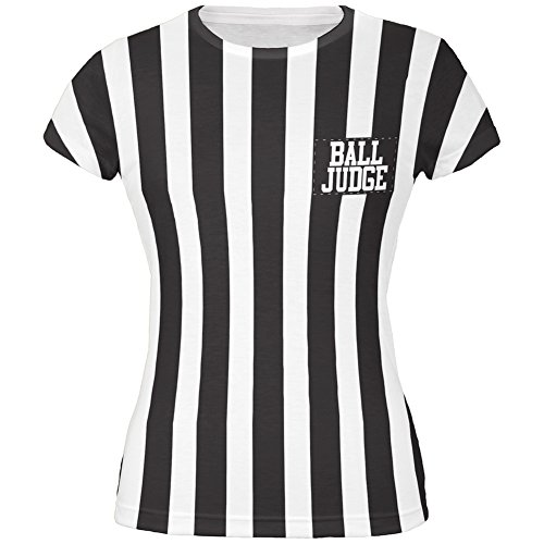 Halloween Deflategate Ball Referee Costume All Over Juniors T-Shirt