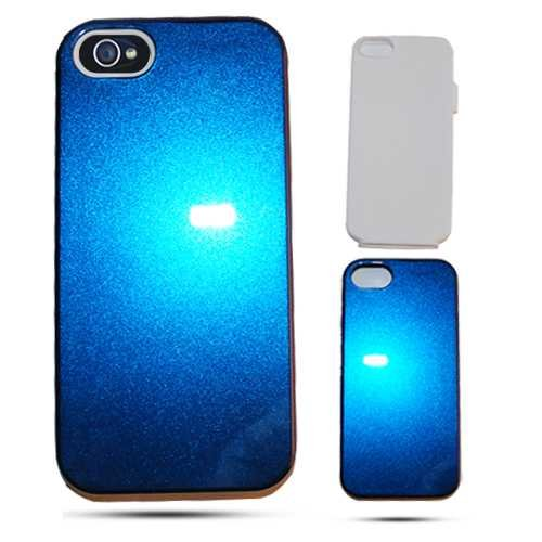 Cell Armor IPhone5-PC-JELLY-A012-IC Hybrid Fit-On Jelly Case for iPhone 5 - Retail Packaging - Chameleon Solid Blue (Iphone5 Jelly Case compare prices)