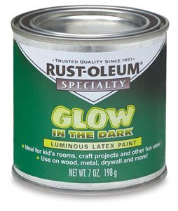 rust oleum glow in the dark brush on paint 7 oz glow in the dark. Black Bedroom Furniture Sets. Home Design Ideas