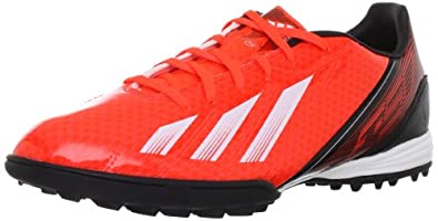 adidas Performance  F10 TRX TF Football Shoes Mens  Red Rot (INFRARED / RUNNING WHITE FTW / BLACK 1) Size: 6 (40 EU)