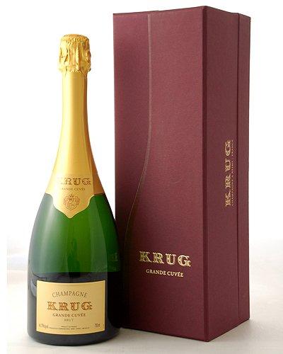 【オリジナルギフト箱入り】クリュッグNVグラン・キュヴェ・ブリュット(泡・白)並行品(ワイン(=750ml)10本と同梱可)[Y][J][A][P]