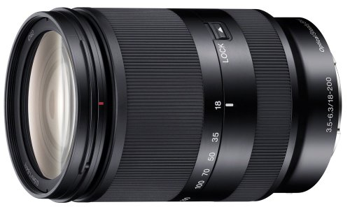 Black friday sony 18 200mm f3 5 6 3 e mount lens cyber monday