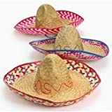 Adult Embroidered Fiesta Sombreros (1 dz)