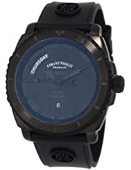 Armand Nicolet Men's 9610N-NR-G9610 S05 Sporty Automatic D.L.C. Black Treated Stainless-Steel Watc