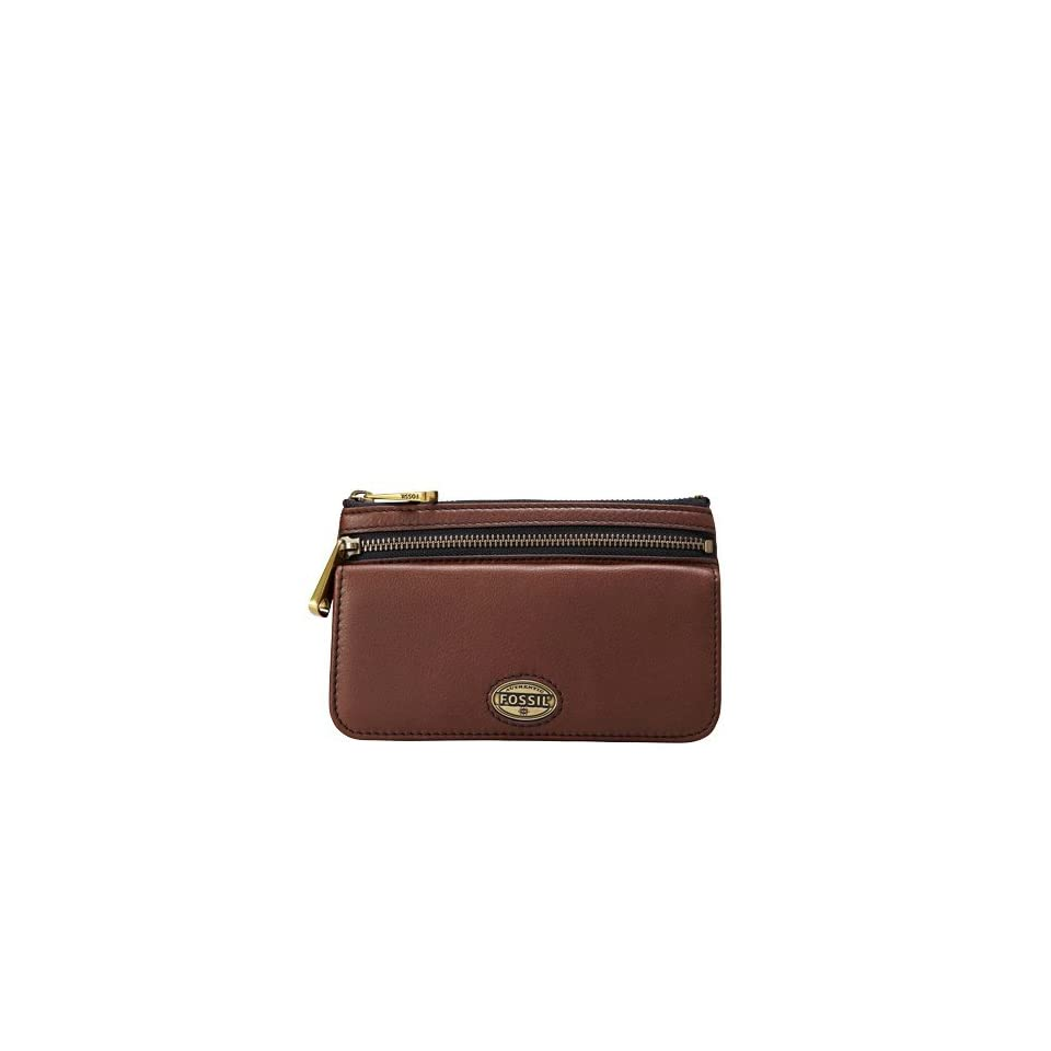 Fossil Explorer Flap Wallet, Espresso, One Size