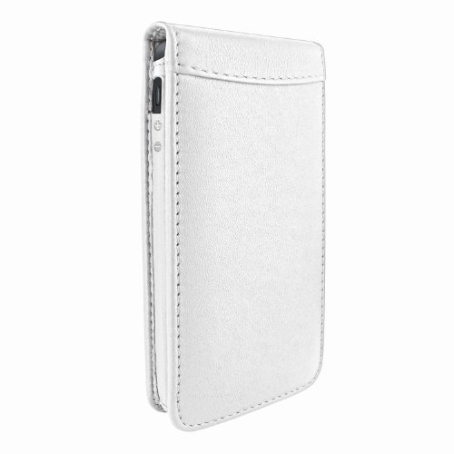Great Sale Apple iPhone 5 / 5S Piel Frama White Magnetic Leather Cover