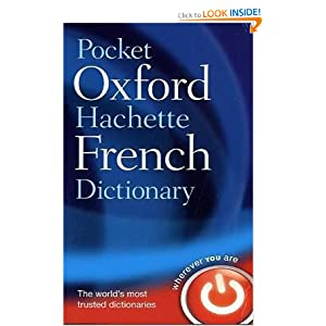 Pocket Oxford-Hachette French Dictionary  by Marie-Helene Correard