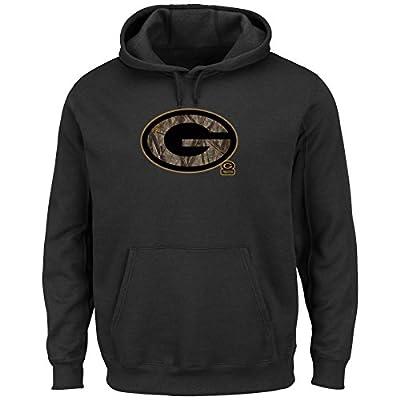 Green Bay Packers Camo Tek Patch Men's Black Hoodie