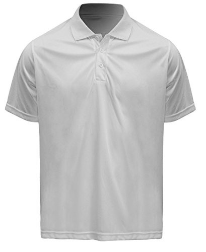 Admiral mentor soccer coach sideline polo shirt white for Soccer coach polo shirt