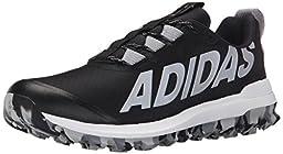 adidas Performance Men\'s Vigor 6 TR M Running Shoe,Black/Silver/White,11.5 M US