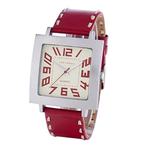 tokyobay-tram-watch-red