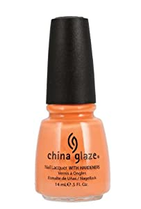 China Glaze Nail Polish, Peachy Keen, 0.5 Fluid Ounce