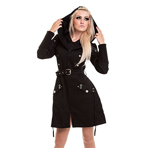 Vixxsin -  Cappotto  - Donna Black XL