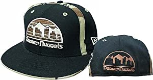 Denver Nuggets Fitted Hardwood Classics Camo Hat Size 6 7 8 by New Era