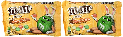 M&M's White Chocolate Carrot Cake Flavor, Easter Limited Edition (2 9.9oz Packs)