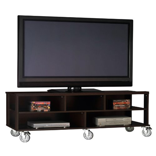 Buy low price flat panel tv stand by ameriwood furniture for Where to buy tv console