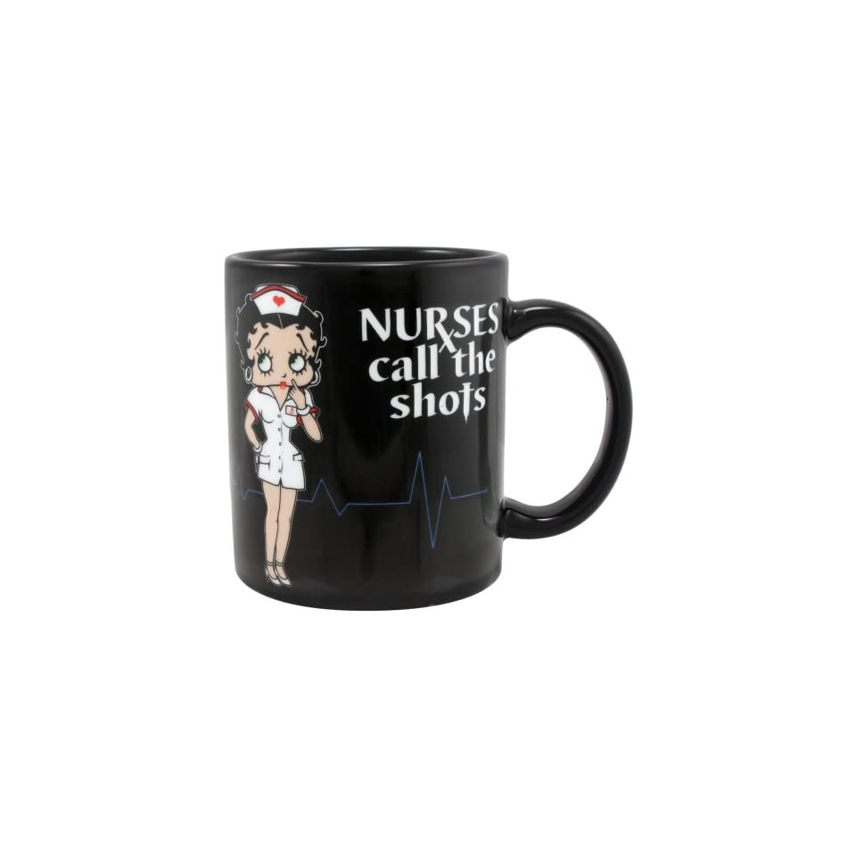 6e0a786f711aab Betty Boop ~ Nurses Call The Shots Ceramic Coffee Mug ~ 11 oz. on ...