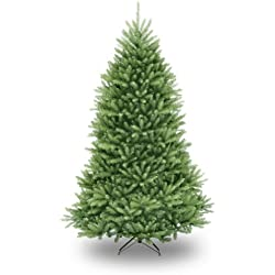 National Tree DUH-75 7.5-feet Dunhill Fir Hinged Artificial Christmas Tree