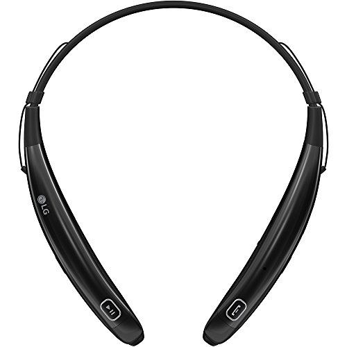 LG Electronics Tone Pro HBS-770 Stereo Bluetooth Headphones - Retail Packaging - Black (Lg Electronics Tone Pro compare prices)