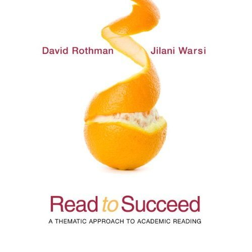 Read to Succeed: Thematic Approach to Academic Reading