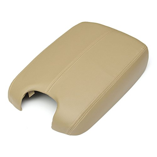 matcc-synthetic-leather-vinyl-plastic-center-console-armrest-lid-for-2008-2012-honda-accord-beige