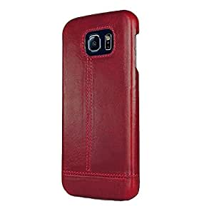 Case Design Leather back cover for LG G4 red
