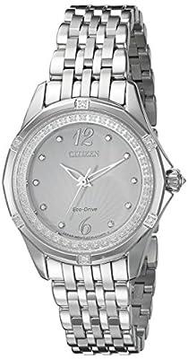 Citizen Women's EM0370-51A Citizen Signature Versaille Analog Display Japanese Quartz Silver Watch