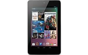 """Google Nexus Tablette tactile 7 """" (17,78 cm) Processeur Arm Cortex A 9 1,2 GHz 32 Go Android WiFi Noir"""