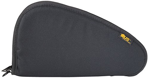 "US PeaceKeeper Pistol Case, 13""x7"", Soft Case, Black P21013"