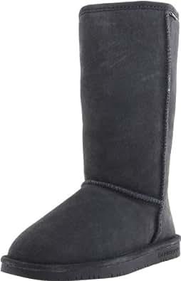 BEARPAW Women's Emma Tall 612-W Boot,Charcoal,5 M US