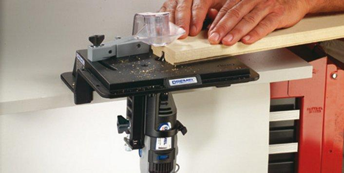 Dremel 231 mesa fresadora conformadora for Mesa para fresadora