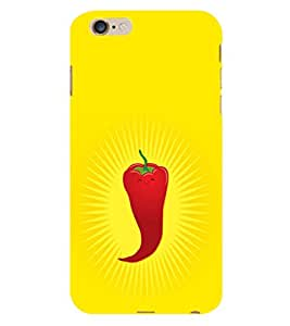 iFasho Red Chillies Back Case Cover for Apple iPhone 6S