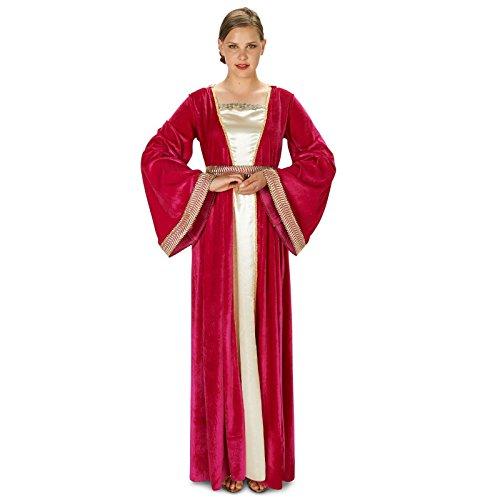 Fuschia Renaissance Lady Adult Costume S (Fair Maiden Renaissance Costume)