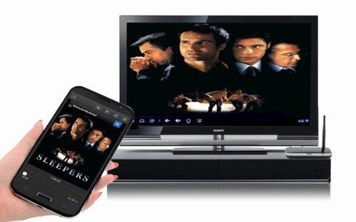 Dracotek TV Box Streaming Client (Cortex A9, 2 GB RAM, 8 GB, Android), Black