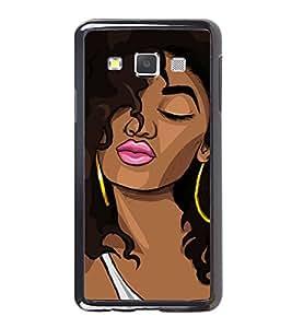 Printvisa Ultra Girl Pouting 2D Hard Polycarbonate Designer Back Case Cover for Samsung Galax...