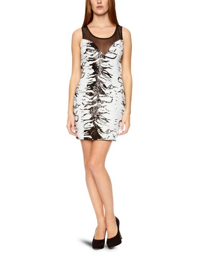 Lipsy DR05393 Sequin Detail Women's Dress Black