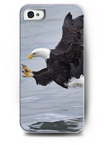 Ouo Stylish Series Case For Iphone 4 4S 4G With The Design Of Fierced Eagle Catch The Fish