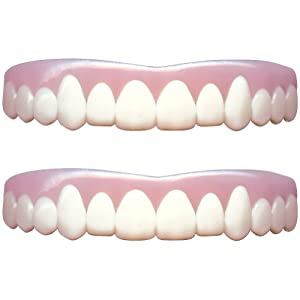 Natural Imako Cosmetic Custom Upper Teeth Covers (Set of 2) size Small
