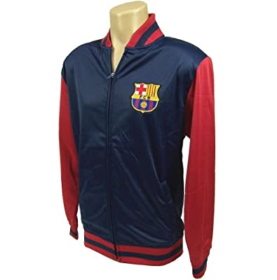 2014 FC Barcelona Zippered Track Jacket-Away-XL