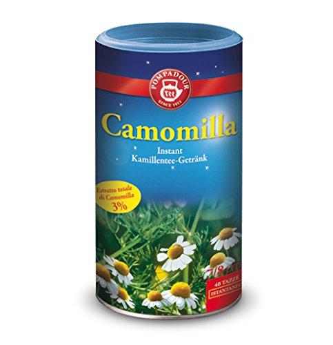 Pompadour Infusione per Bevande Calde, Camomilla Istantanea - 1 Barattolo