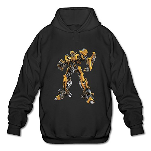 Men's Transformers Personalized Hoodies Sweatshirt Black Size XXL