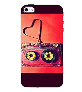 PrintDhaba Funny Image D-3960 Back Case Cover for APPLE IPHONE 4S (Multi-Coloured)