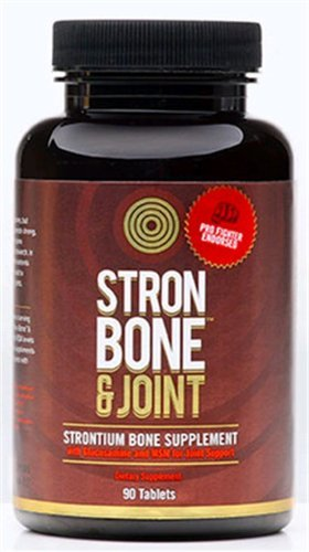 Отзывы Stron Bone and Joint By Onnit - Strontium Bone Supplement w/ Glucosamine and MSM | Pro Fighter Endorsed