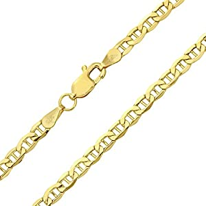 Citerna 9ct Yellow Gold Anchor Bracelet of 7.5 Inch/19cm Length and 0.5cm Width by Citerna