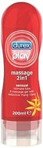 Durex Play Massage 2-in-1 Lube - 200 ml, Sensual