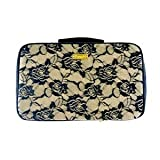 PurseN Amour Travel Case in Black Lace and Nude Satin
